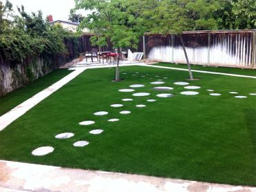 Artificial Grass Photos: Artificial Turf Installation Tybee Island, Georgia City Landscape, Beautiful Backyards