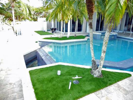 Artificial Grass Photos: Grass Installation Lilburn, Georgia Backyard Deck Ideas, Backyard Pool