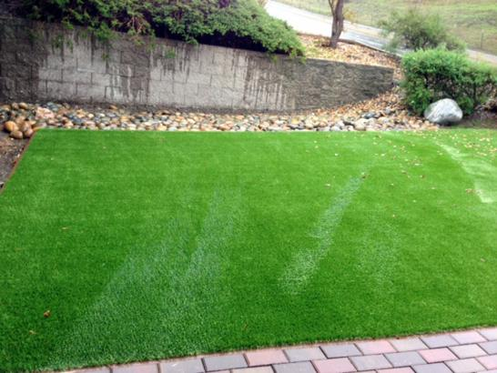 Artificial Grass Photos: Installing Artificial Grass Pavo, Georgia Backyard Deck Ideas, Front Yard Landscaping