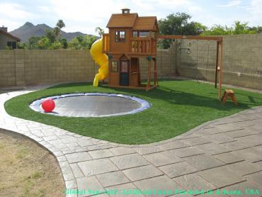 Artificial Grass Photos: Synthetic Turf Supplier Trenton, Georgia Playground Turf, Backyard Landscaping