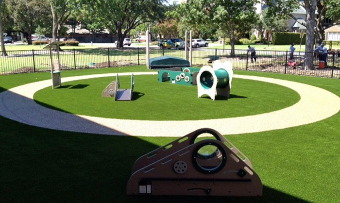 Artificial Grass for Playgrounds in Atlanta